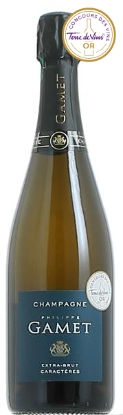 Champagne Philippe Gamet - Extra-Brut Caractères Coup de Coeur Champagne Extra-brut